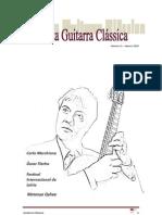Revista Guitarra Clássica n0