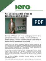 Asi Se Calculan Las Cifras de Desempleo en Colombia_Dinero
