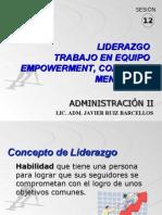 Sesion 12 Liderazgo Empowerment Coaching y Mentoring