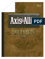 Libro de Reglas en Español Axis n Allies 1941