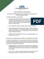 Udd Unidad de Acreditación Socioeconómica 2015