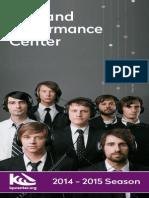 Kirkland Performance Center - Season Brochure 14-15 for Print