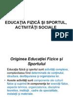 EFS Activitaţi Sociale