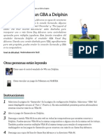 Cómo Conectar VisualBoyAdvance-M al Emulador Dolphin