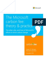 Microsoft Carbon Fee Guide