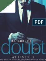 Whitney Gracia Williams - Saga Reasonable Doubt - 01 - Reasonable Doubt Volumen 1 (1).pdf