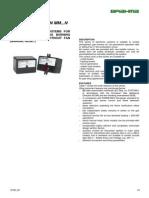 SM 592.2 Caja de Control Electromagnetica