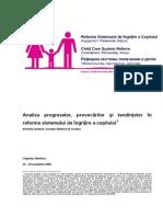 Regional Analysis Progress of Child Care System Reform ROM