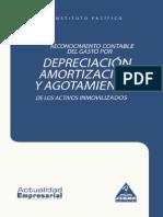 Reconocimiento Depreciacion Amortizacion