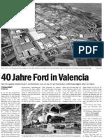 Ford in Valencia