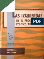 Strasser - Las Izquierdas en El Proceso Político Argentino