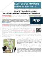 Newsletter 11 - CHSCT Bel Air