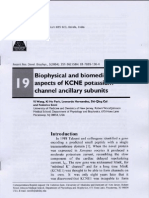 Wang, Y., K. H. Park, et al. (2004). Biophysical and biomedical aspects of KCNE potassium channel ancillary subunits