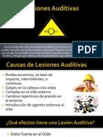 Lesiones Auditivas