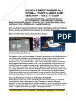 Variety Technology & Entertainment Fall Summit 2014  Overall Review & James Gunn Keynote Conversation - Part 2 - FuTurXTV & HHBMedia.com - 11-5-2014.pdf