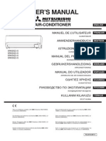 Air Conditioner Mitsubishi Heavy Industries SRK50ZJ-S Manual