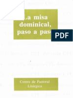 Cpl La Misa Dominical Paso a Paso