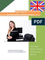 UFCD 0658 Língua Inglesa Documentação Administrativa Índice