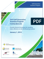2014 Self Generation Incentive Program Handbook V1