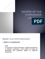 History of the Synthesizer Powerpoint