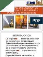 SEGURIDAD EN EL SECTOR DE PRODUCCION DE REFINERIAS presentar.pptx