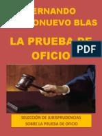 Libro La Prueba de Oficio (Autor