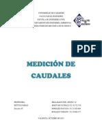medicion de caudales.docx