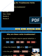 six troublesome verbs