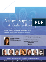 Natural Supplements Brochure 2015