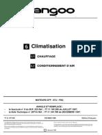 KANGOO - Climatisation