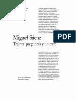 Entrevista a Miguel Saenz, Traductor.