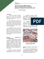 Studi Pola Ruang Terbuka Hijau Di Semarang