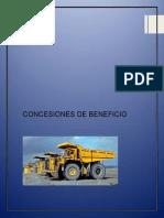 Concesiones de Beneficio