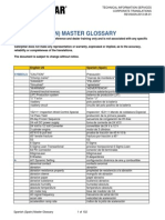 Caterpillar Master Glossary Spanish-Spain
