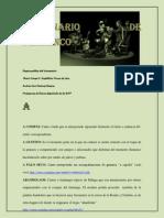 Diccionario de Flamenco