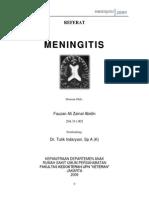 Meningitis - Referat - Fauzan