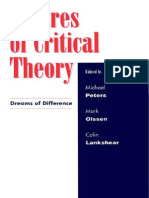 Michael Peters Futures of Critical Theory Dreams of Difference 1