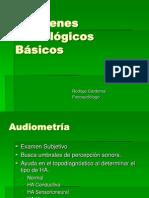 Presentación Audiometría Impedanciometría