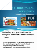 Chapter 1- Food Quality Control Programme
