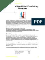 Análisis de Rentabilidad Económica y Financiera