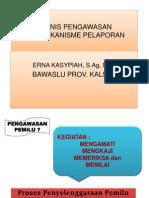 Teknis Pengawasan Dan Mekanisme Pelaporan