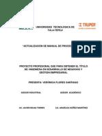 Internacional Actualizacion Manual de Procedimientos