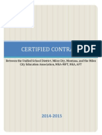 2014-15 teacher contract