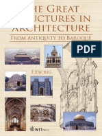 The Great Structures in Architecture - From Antiquity to Baroque