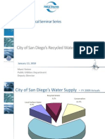 UCSD Recycled Water Presentation Jan. 13, 2010