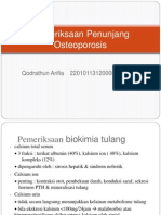 Pemeriksaan Penunjang Osteoporosis