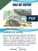 3.- Turbinas a Vapor