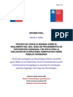 Informe Final Consulta Indigena RSEIA SEA Mapuzugun