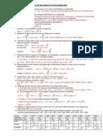 Trigonometria - ejercicios