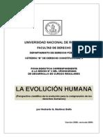 Clase 2, Evolucion Humana